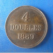 Guernesey 4 Doubles 1889