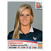 Panini Foot World Cup Canada 2015 N� 415 Amandine Henry (France)