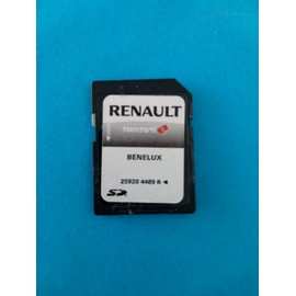 achat carte gps tomtom renault