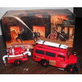 Models Of Yesterday - Fire Engine Series - Ford E83w Van - 1950 -