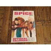 Official Calendar 98 Spice Girls