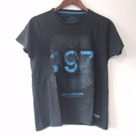 T-Shirt Bleu Marine Jack & Jones