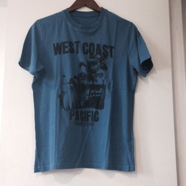 T-Shirt Celio Bleu