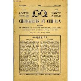 L'intermediaire Des Chercheurs Et Curieux N� 45 - Questions 625: Marianne. � 625: Armoiries Et Devise � Identifier. � 626 : Redon De Trabuc. � 626: Sainte Perrine. � 626: (Louise, Baronne ...