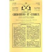 L'intermediaire Des Chercheurs Et Curieux N� 356 - Questions 1037 : Le Jeu De Capiote. � 1037 : Crucifixion De J�sus. � 1038 : Origines De L��v�que Oger. � 1038 : Barville. � 1039 : ...