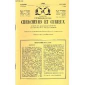 L'intermediaire Des Chercheurs Et Curieux N� 404 - Questions 959: O� Cl�op�tre Est-Elle Enterr�e ? �960: Les Jeux Floraux. � 961 : La � Fontaine De B�gouins �. � 961 : Mariage � Agen De ...