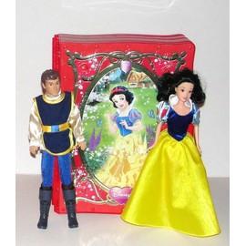 Poup es et accessoires blanche neige et les sept nains achat vente neuf d 39 occasion - Blanche neige et son prince ...