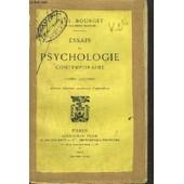 Essais De Psychologie Contemporaine - Tome Ii de paul bourget