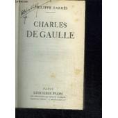Charles De Gaulle de philippe barres