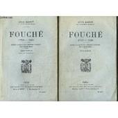 Fouche 1759-1820 - 2 Tomes de louis madelin