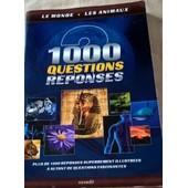 Le Monde Les Animaux 1000 Questions Reponses de DOMINIQUE AUTIE