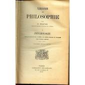 Psychologie : Tome I / Collection Lecons De Philosophie. de ROUSTAN D.