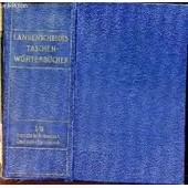 Langenscheidt - Dictionnaire De Poche Des Langues Francaise Et Allemande - 1ere Et 2e Parties de h. schwarz