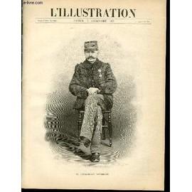 L'illustration Journal Universel N� 2858 - Gravures: Le Commandant Estherhazy Par H.Thiriat - La Catastrophe De Tournay (Chemin De Fer Du Midi) Par Ducourtioux / Articles: La France ...