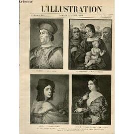 L'illustration Journal Universel N� 2565 - Gravures: La Collection Sciarra, Tableaux De La Galerie Du Prince Envoy�s En France (Voir L'article Page 335) D'apres Des Photographies De La ...
