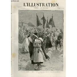 L'illustration Journal Universel N� 2554 - Gravures: Les Evenemens Au Maroc, Arriv�e � Tanger D'une Tribu Rebelle Venant Faire Sa Soumission (Voir L'article Page 110) Par Haenens - Abordage ...