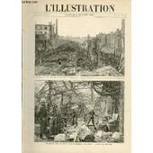 L'illustration Journal Universel N� 2732 - Gravures: Incendie Des Anciens �tablissements Godillot, Aspect G�n�ral Des Ruines, Vue Prise De La Rue Rochechouart Par E.Tilly - L'exp�dition De ...