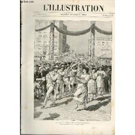 L'illustration Journal Universel N� 2577 - Gravures: La Danse Des Treilles Dans Le Midi De La France, D'apr�s Des Photographies Communiqu�es Par M.Winkler - La Catastrophe Du ...
