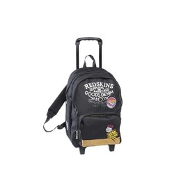 Sac � Dos � Roulettes 2 Compartiments Redskins Denim Noir
