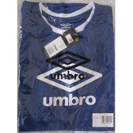 Maillot De Football Umbro Bleu & Blanc Xl Manches Courtes Teamwear