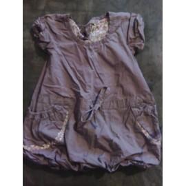 Robe Boule Tape � L 'oeil Coton 18 Mois Violet