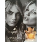 My Burberry De Burberry - Publicit� De Parfum Avec Cara Delevingne Et Kate Moss - Bur31