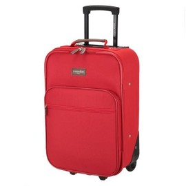 Manoukian Valise Cabine 2 Roues 50 Cm Rouge