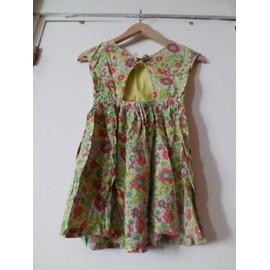 Robe � Fleurs Dos Nu Zara 7 Ans