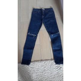 Pantalon Jennyfer Coton 38 Bleu