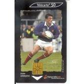 T�l�carte 50 Unit�s = De La Collection Rugby : Xavier Garbajosa Du 02/01, Tirage 400 000
