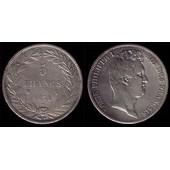 5 Francs Argent Louis Philippe I De 1831