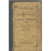 Fables Choisies D Esope Edition Classique Accompagnee Des Imitations De La Fontaine Et D Un Lexique Avec Des Notes En Francais de E Sommer
