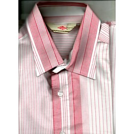 Chemise Homme Lee Cooper M Blanc Ray� Rouge