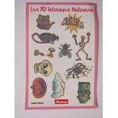 10 Tatouages Halloween