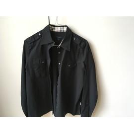 Chemise Burberry Coton S Noir