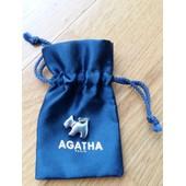 Pendentif Chien Agatha Authentique En Argent