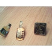 Lot De 3 Pin's Jack Daniels Whiskey