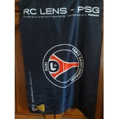 Drapeau Psg- Lens. Finale De La Coupe De La Ligue 2008. (Collector).
