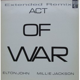 """Act Of War (Part 5 + Part 6) - Limited Edition - Remix Number Two - Maxi 12"""""""