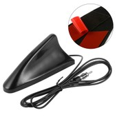 Black Universal Shark Fin Car Auto Roof Top Radio Antenna Aerial For Bmw Ma481
