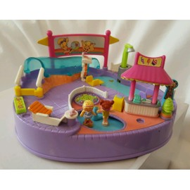 Polly Pocket Magical Swimabout Pool Party, Bluebird, 1997