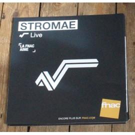 PLV souple 30x30cm STROMAE live MAGASINS FNAC