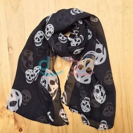 Foulard Skull - Noir
