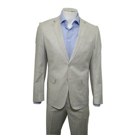 Costume Homme L�ger 2 Pi�ces / Costume En Lin / Costume Homme Beige / Costume Homme Gris / Costume Homme Bleu Ciel / Costume Mariage Plage / Costume C�r�monie / Smoking
