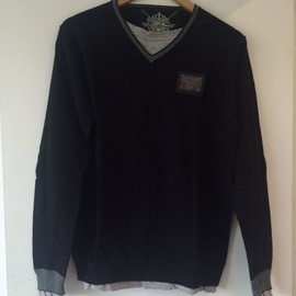 Pull Noir Rg 512 Taille M