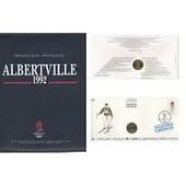 Album Complet Enveloppe Timbre Medaille J.O. Albertville 1992