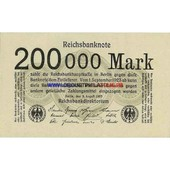 Allemagne 200 000 Mark Pick 100
