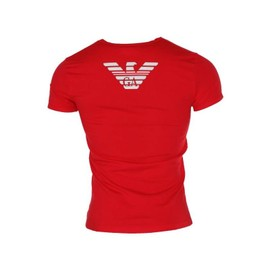 Emporio Armani T-Shirt Rouge Homme