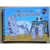Methode D'harmonica A Partir De 4 Ans Avec Cd de MARINA HOLTZ