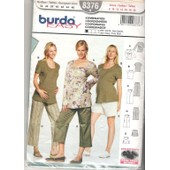 Patron Couture Burda Easy 8376 Coordonn�es Future Maman , Maternit�